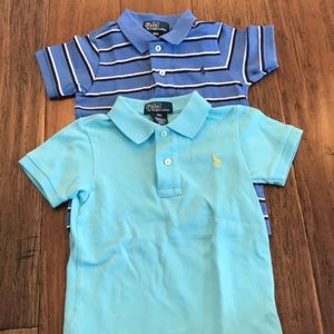 Set of 2 polo by Ralph Lauren polos!
